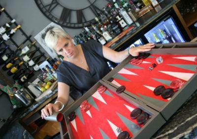 championship or tournament backgammon boards