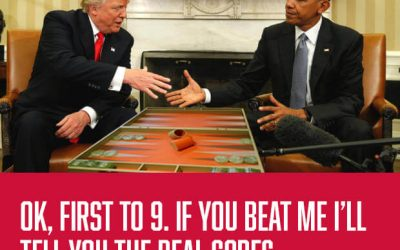 What really happened when Trump met Obama.