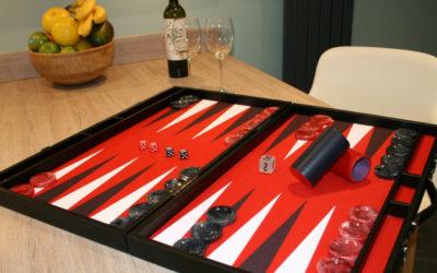 Design you own backgammon board
