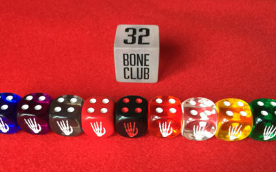 Roll up, roll up with Bone Club dice.
